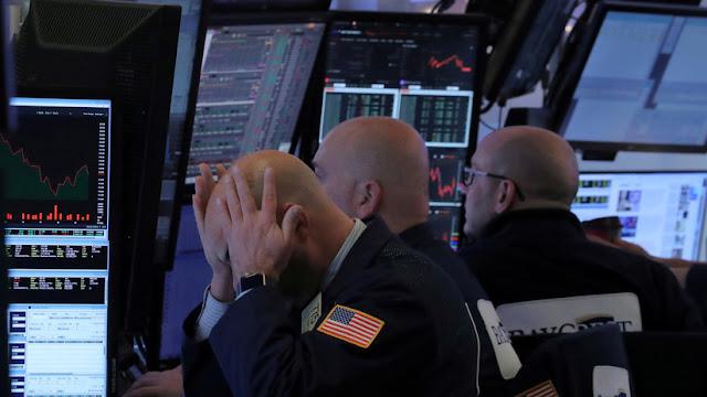 Fuerte caída de Wall Street tras el aumento de las tasas de interés de la FED