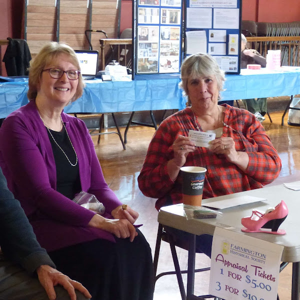 #FarmingtonNH Historical Society #Antiques Appraisal Event Recap