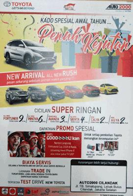 Simulasi Kredit Toyota Calya 2018