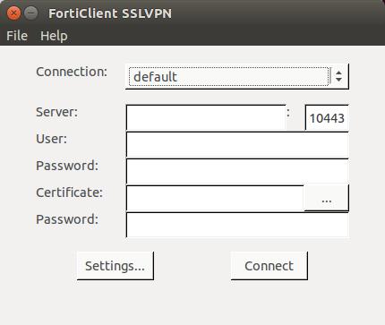 Forticlient ssl vpn linux ubuntu