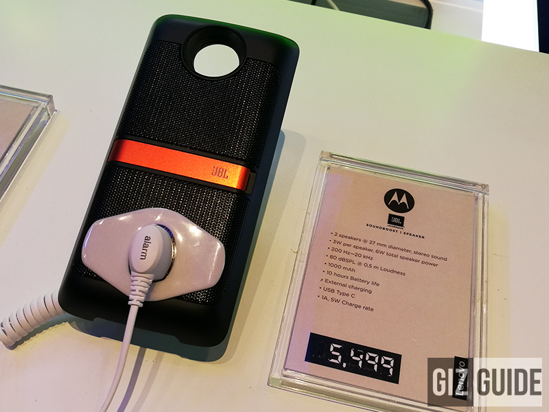 JBL Soundboost Speaker Mod, loud speakers for your Moto Z!