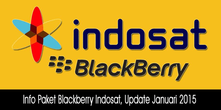 Info Paket Blackberry Indosat