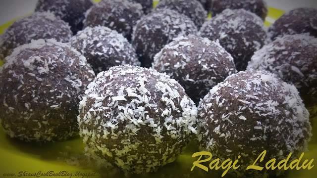 Ragi Laddu - Finger Millets Ladoo - Raagi Balls