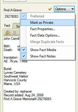 Family Tree Maker User: Find-A-Grave Citations - From Find-A-Grave