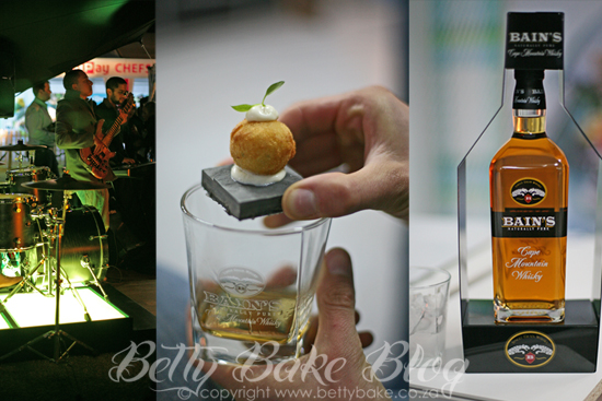 Taste of Cape Town, betty bake, bains whisky, food and whisky pairing, drinks