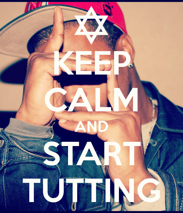 keep calm tutting