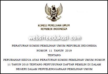 PKPU Nomor 11 Tahun 2019