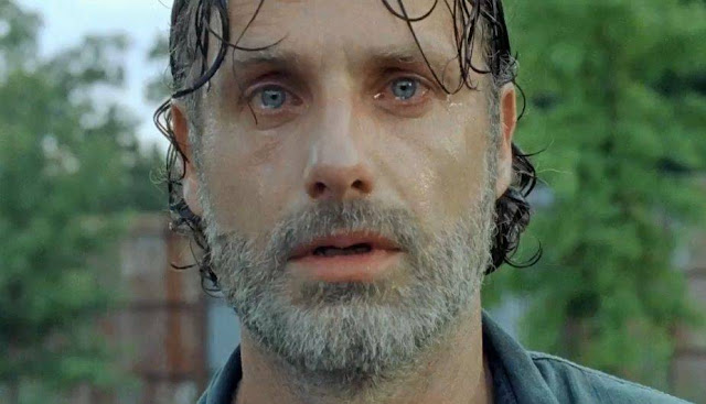 "Rick 7x08 ""Hearts Still Beating"" de 'The Walking Dead'"