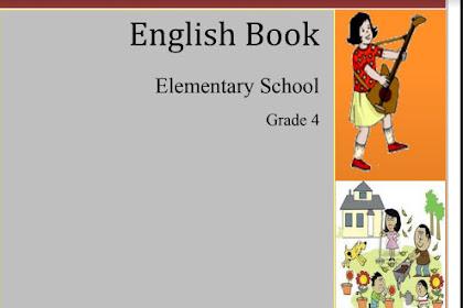 BUKU BAHASA INGGRIS SD KELAS 4, English Book Elementary School Grade 4