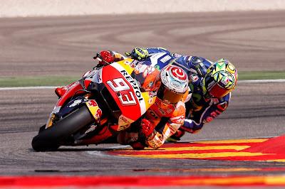 Εκπληκτική νίκη του Marquez στον αγώνα Gran Premio Movistar de Aragón