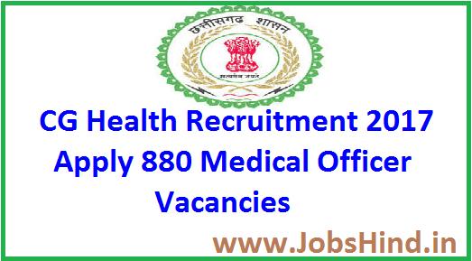 CG Health Recruitment 2017