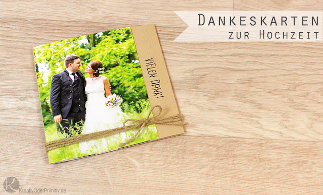 kreativ oder primitiv dankeskarten danke fotobuch zur hochzeit. Black Bedroom Furniture Sets. Home Design Ideas