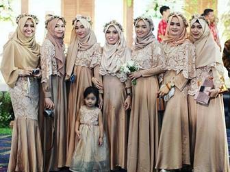 Baju Kebaya Brokat Muslimah Terbaru Untuk Acara Resmi