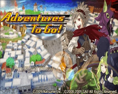 game ppsspp android ukuran kecil adventures to go