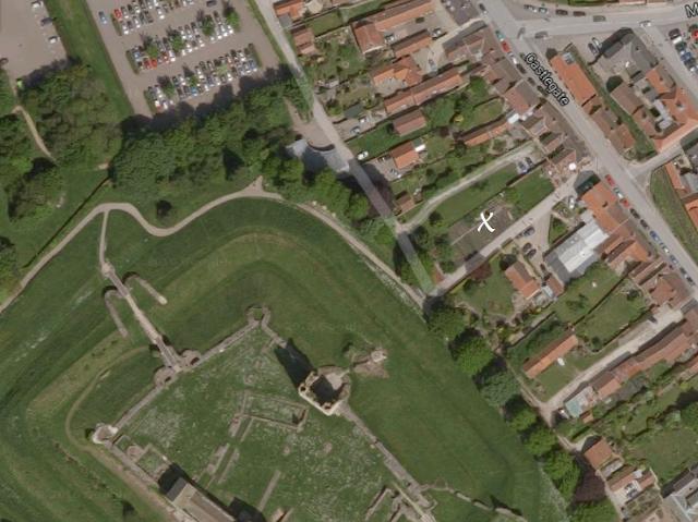 Aerial view of Helmsley