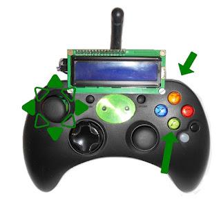 XboxRC24 botones predefinidos para el modo tanque