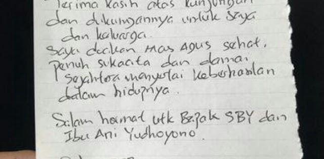 Ahok dan Agus Yudhoyono, Dulu Bersaing dan Kini Saling Mendukung...