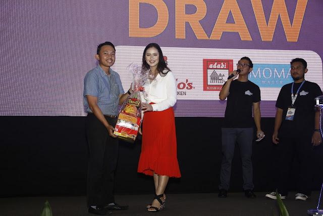 Lucky draw; Sabah Job & Entrepreneur Fair 2018 @ Kompleks Sukan Kota Kinabalu (Likas)