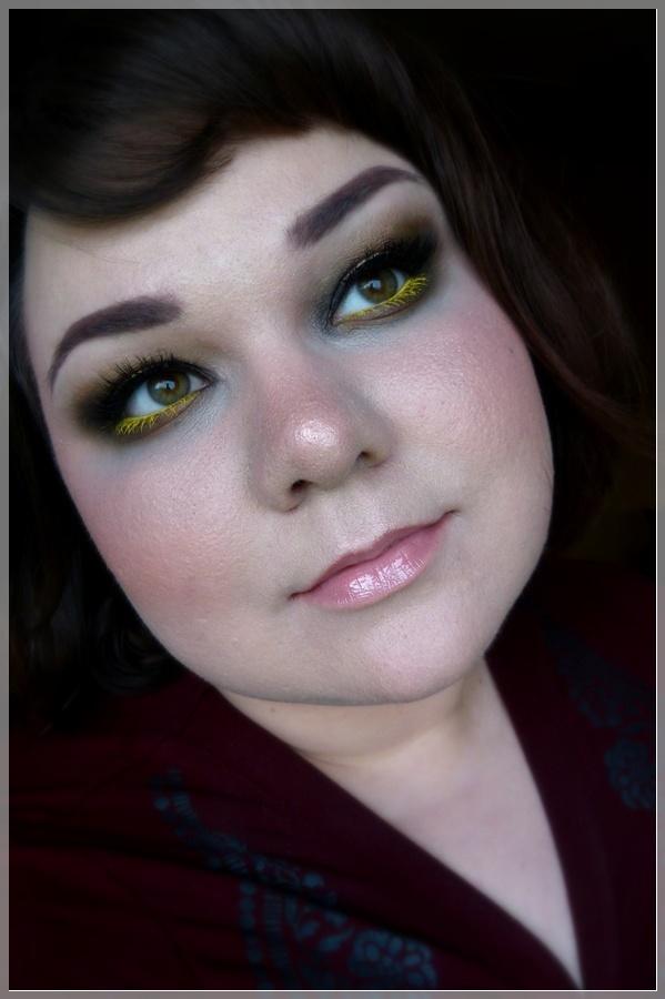makeup Look mit Gelb