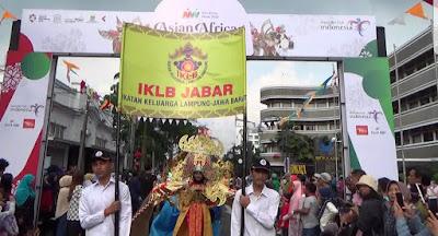 IKLB Jabar Ikuti Karnaval Budaya Asia Afrika ke-63