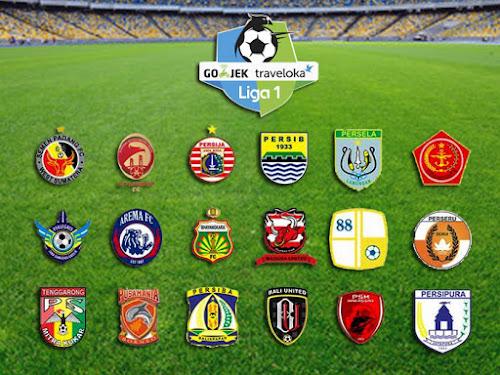 Jadwal Pertandingan Go-Jek Traveloka Liga 1 Pekan ke-15