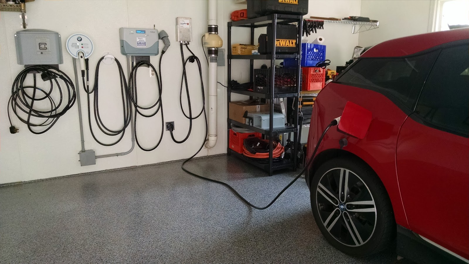 Bmw Electric Car Charging Cable