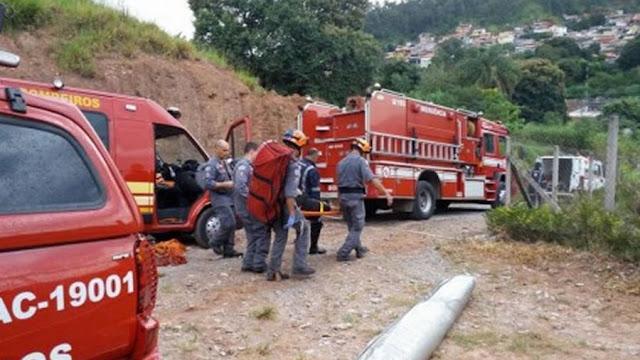 Ventos fortes arrastam piloto de asa-delta de Andradas(MG) até Campo Limpo Paulista(SP)