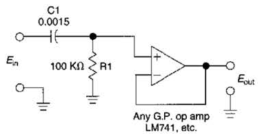 Build a High-Pass (Hp) Active Filter For 1Khz Circuit