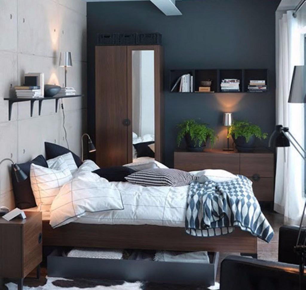 Bedroom design Size 3 x 3 Lampuhouzz.com