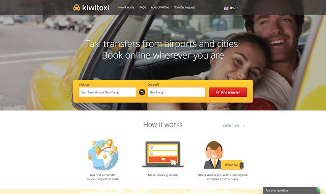 Review on the online transfer booking service Kiwitaxi