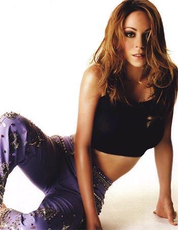 Foto de Mariah Carey posando para fans