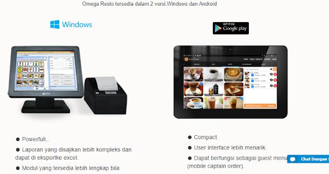 Aplikasi Kasir Online Omegasoft Resto