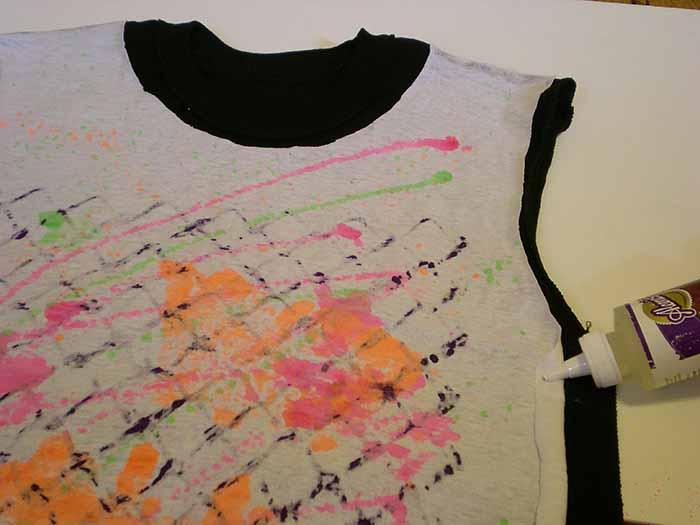 eski tişört boyama yenileme