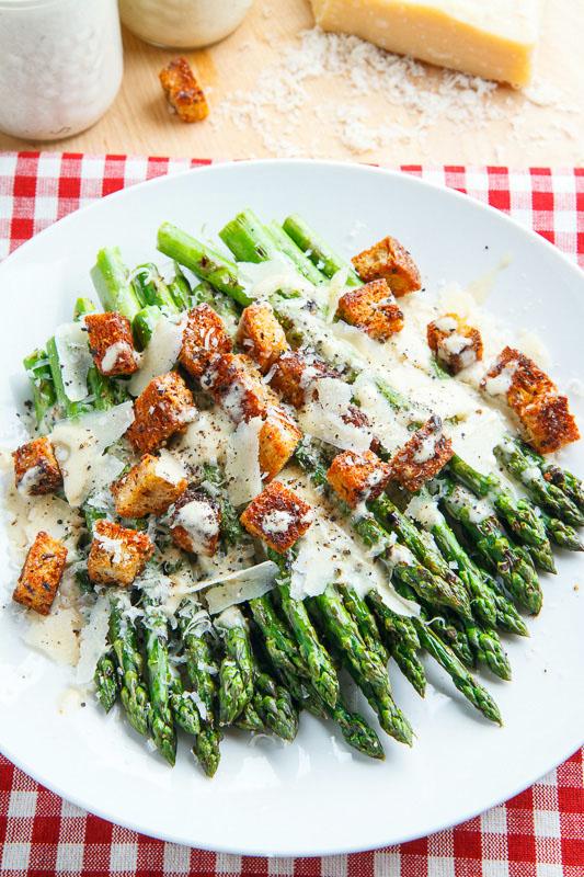 Caesar Grilled Asparagus