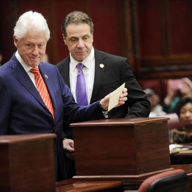 Bill Clinton reflects on his wife's loss after Electoral College vote