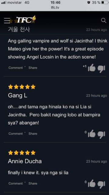 Angel Locsin As The 'Lady In Red' Is On Fire! TFC Subscribers' Reactions Is Indeed Brilliant!