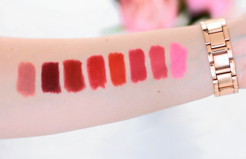 Maybelline Color Blur Swatches