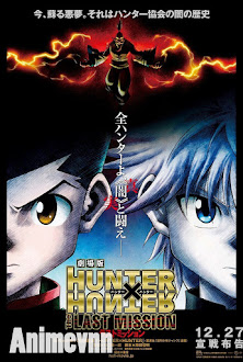 Hunter x Hunter: The Last Mission -  2014 Poster