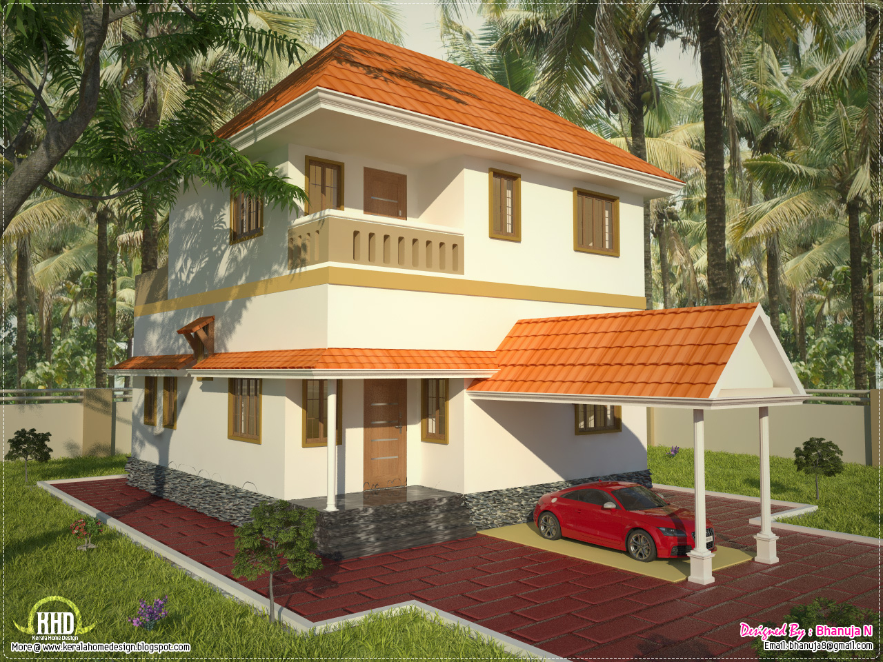 Beautiful Indian Home Designs in addition Floor Plan And Elevation Of 1925 Sqfeet together with San Marco Villa Apartment Homes Irvine CA 92614 1962623 further  on 1925 sq ft free villa plan