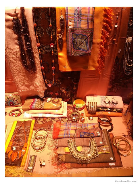Diwali shop window Paris October 2017