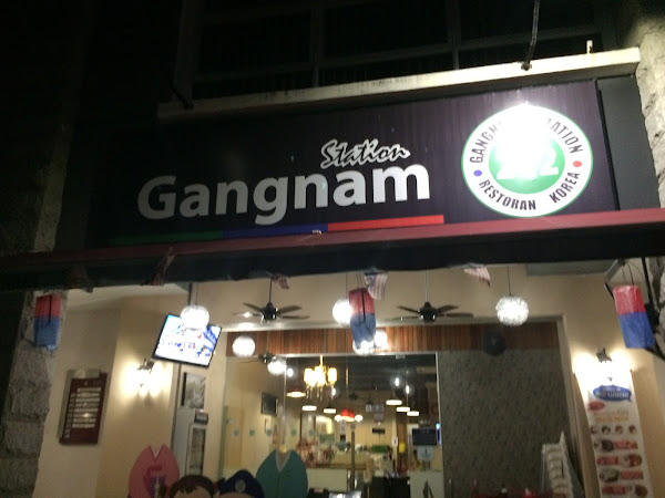 Doublekan Lemak : Gangnam Station Restaurant - Restoran masakan korea Halal di Shah Alam