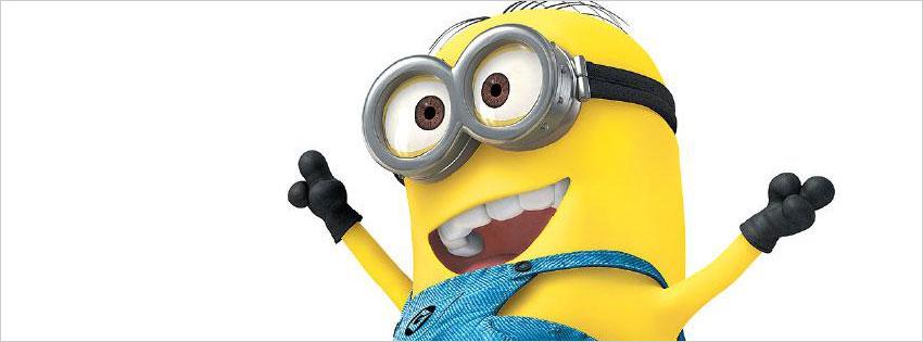 Ảnh bìa Minions, ảnh bìa facebook Minions dễ thương