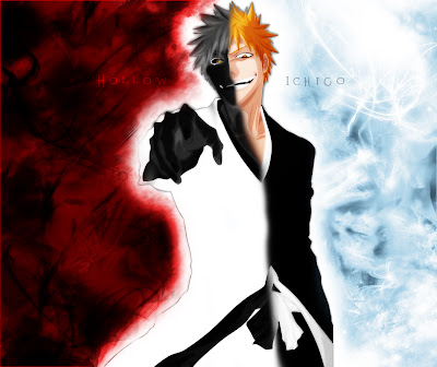 Hollow bleach kurosaki ichigo this one there you go desktop