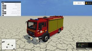 FMFS man firefighters car