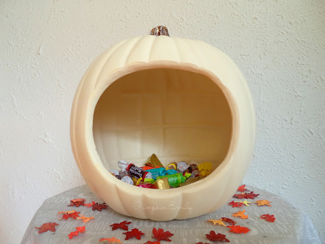 DIY Pumpkin Bowl