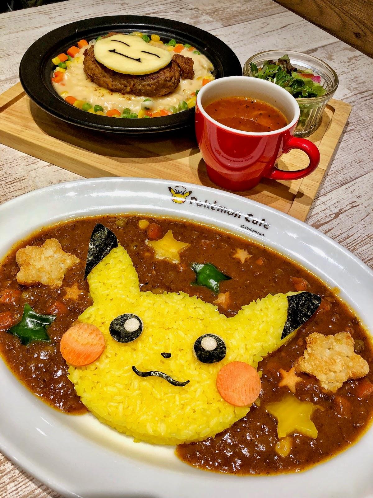 Pokemon Cafe Tokyo Food