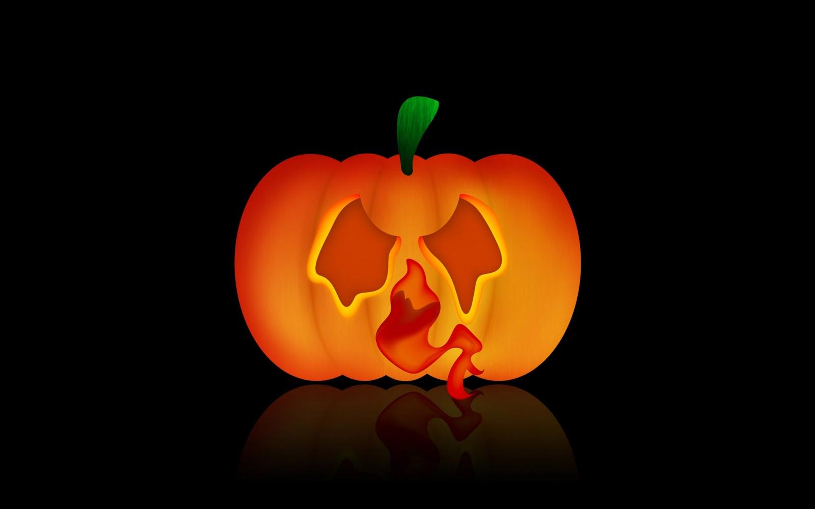 Popular Wallpaper Halloween Facebook - ghostly-pumpkin-wallpaper-for-halloween  2018_543580.jpg