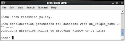 Performing Backup and Recovery