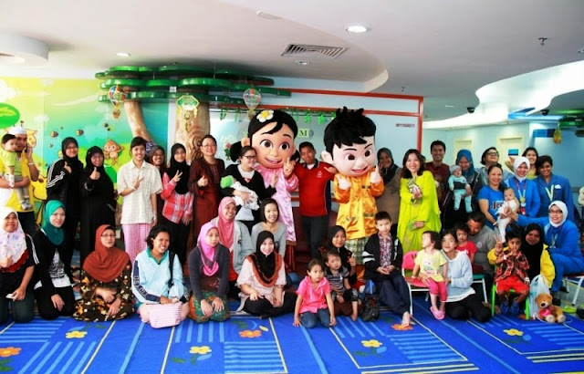 Raya Cheers to Young Heart Patients, National Heart Institute, Pavilion KL