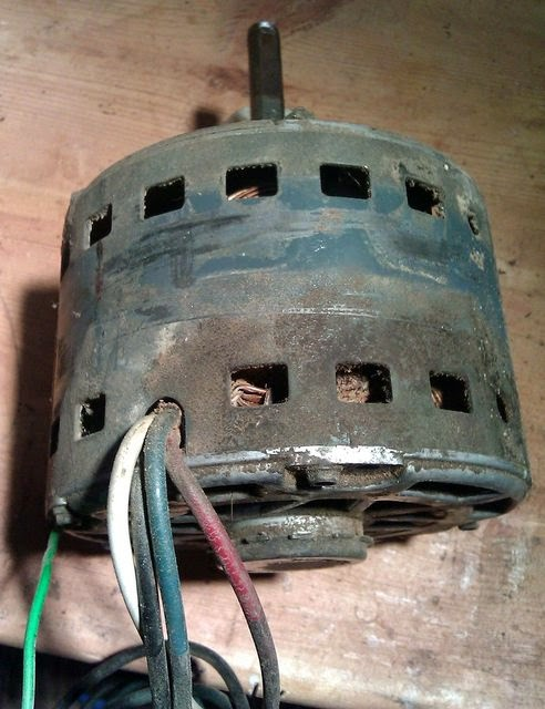 Fan Switch Wiring Diagram Roof Structure The Wood Knack How To Wire An Hvac Motor For 3 Speeds Probably Not But Then I Had Figure Out It Simple Found A Rotary On Grainger Off Was Advised By